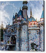 Castle And Clouds Acrylic Print