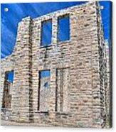 Castle And Sky Acrylic Print