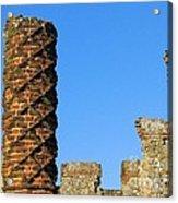 Castle Brickwork Acrylic Print