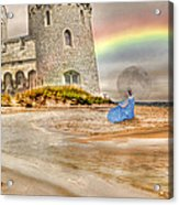 Castle By The Sea Acrylic Print