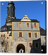 Castle Church Weimar Acrylic Print