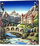 Castle Creek Acrylic Print