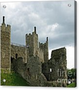 Castle Curtain Wall Acrylic Print