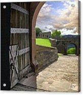 Castle Door Acrylic Print