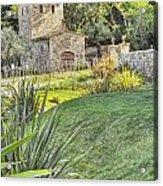 Castle Gate House Acrylic Print