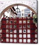 Castle Gate Acrylic Print