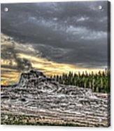 Castle Geyser - Yellowstone Acrylic Print
