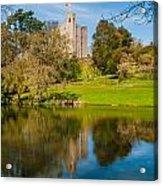 Castle Hedingham Acrylic Print