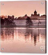 Castle Howard Dawn Acrylic Print