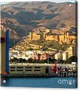 Castle In Almeria Spain Acrylic Print