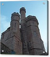 Castle In Inverness Acrylic Print