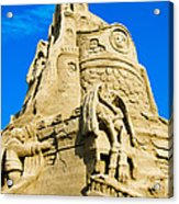 Castle In The Sand Acrylic Print
