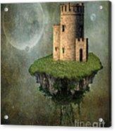 Castle In The Sky Acrylic Print by Juli Scalzi