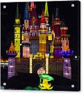 Castle Lantern Acrylic Print