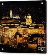 Castle Of Buda Acrylic Print