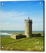 Castle On The Coast Of Ireland Acrylic Print