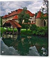 Castle Otocec Acrylic Print