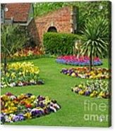 Castle Park Gardens  Acrylic Print