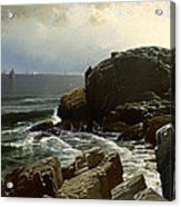 Castle Rock At Marblehead Acrylic Print