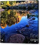 Castle Rock Reflection Acrylic Print