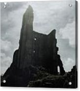 Castle Ruin Acrylic Print