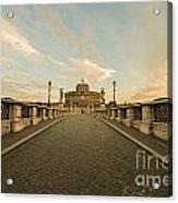 Castle Sant'angelo Acrylic Print