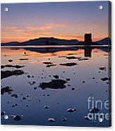 Loch Laich And Castle Stalker Acrylic Print