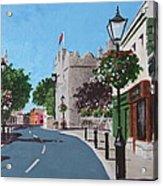 Castle Street Dalkey Acrylic Print