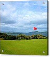 Castle Stuart Golf Links Acrylic Print