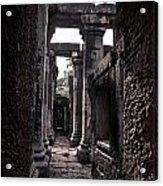 Castle Acrylic Print by Thammasak Kanjananul