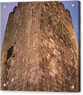 Castle Tower Acrylic Print