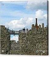 Castle Wall Walk Acrylic Print