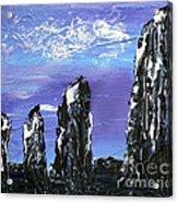 Castlenalact Standing Stones Acrylic Print