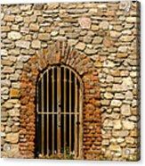 Castles Door. Acrylic Print