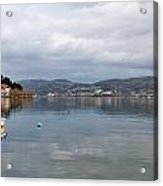 Kastoria Lake In Greece Acrylic Print