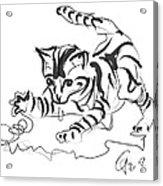 Cat- Cute Kitty  Acrylic Print