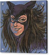 Cat Woman01 Acrylic Print