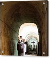 Catacombs In Palermo Acrylic Print