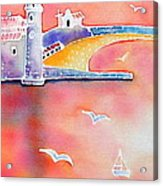 Catalan Sunset Acrylic Print