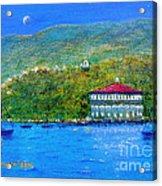 Catalina Island Night Acrylic Print