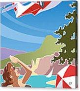 Catalina, Mid Century Travel Acrylic Print