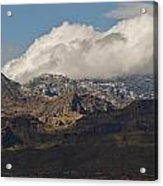 Catalina Mountains Tucson Arizona Acrylic Print
