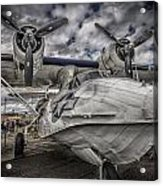 Catalina Pby-5a Miss Pick Up Hdr Acrylic Print