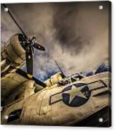 Catalina Pby-5a Miss Pick Up Low Angle Acrylic Print