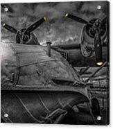 Catalina Pby-5a Miss Pick Up Mono Acrylic Print