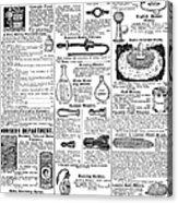 Catalogue Page, 1902 Acrylic Print