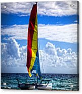 Catamaran At The Beach Acrylic Print