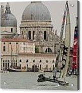 Catamaran In S.marco Acrylic Print