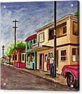 Catano Puerto Rico Street Acrylic Print