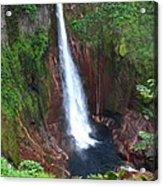 Catarata Del Toro Waterfall Acrylic Print